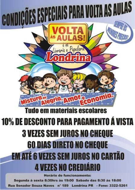 Livraria e Papelaria Londrina